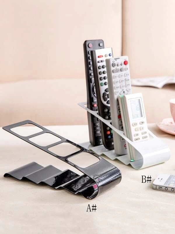 1pc Desktop Remote Control Storage Rack