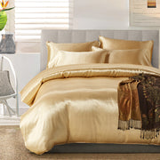 Luxe Silky Duvet Cover Set 3pcs