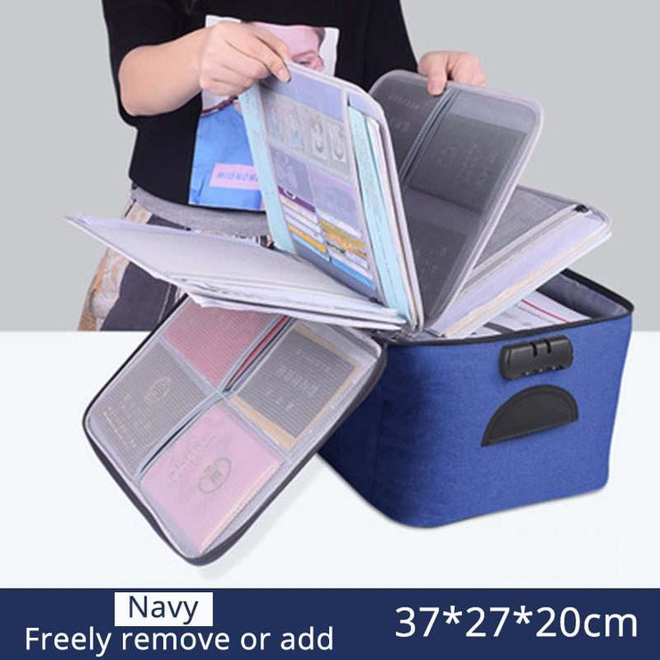 High Quality Large Capacity Document Storage Bag