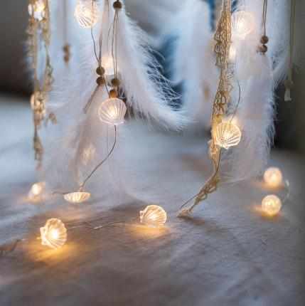 Summer Seashell LED String Decor