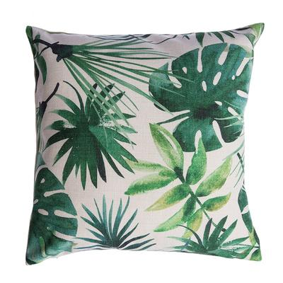 Palm House Print Pillow Cover