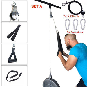 Fitness Pulley Cable 2.0 - Fitness Pulley Cable