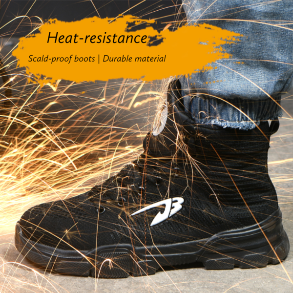 Indestructible Steel Toe Boots