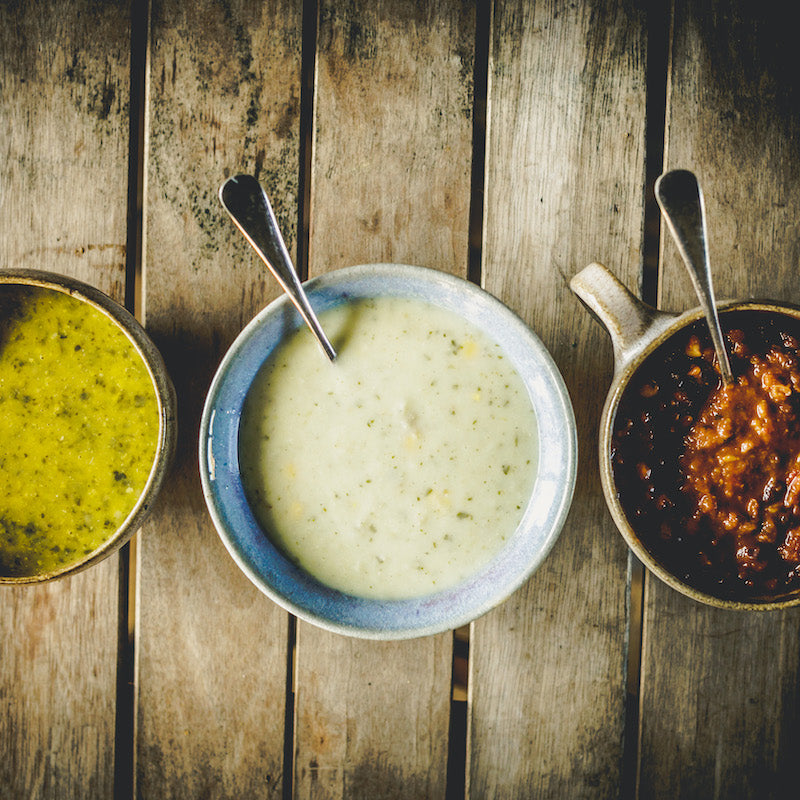 6 Organic Soups - Fresh Vegan Mix