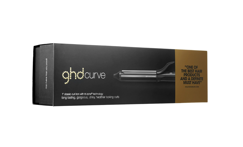"GHD Curve Curling Iron 1"" for hair"