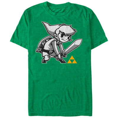 Links Brave - T Shirt - Iconic Wars