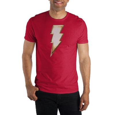 DC Comics Shazam! Thunderbolt Short-Sleeve T-Shirt - Iconic Wars