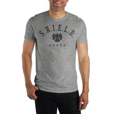 Marvel Clothing Captain Marvel S.H.I.E.L.D Graphic Short-Sleeve T-Shirt - Iconic Wars