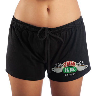 Women's Central Perk Friends New York Sleep Shorts - Iconic Wars