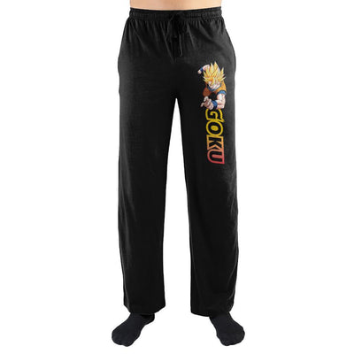 Dragon Ball Goku Super Saiyan Sleep Pants | Lounge Pants - Iconic Wars
