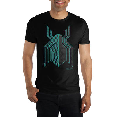 Marvel Spider-Man: Far From Home Stealth Suit Symbol Short-Sleeve T-Shirt - Iconic Wars