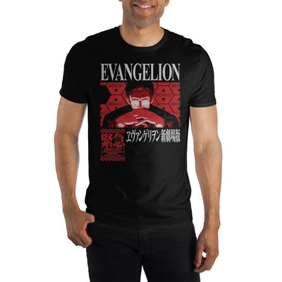 Neon Genesis Evangelion Short-Sleeve T-Shirt - Iconic Wars