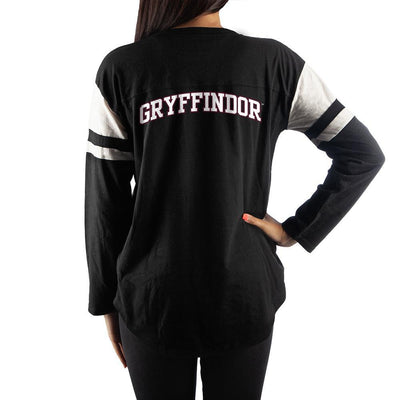 Harry Potter Womens Gryffindor Long Sleeve Shirt - Iconic Wars