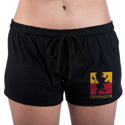 Hogwarts Gryffindor Juniors Graphic Sleep Shorts - Iconic Wars
