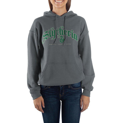 Harry Potter Hogwarts Slytherin Graphic Hoodie - Iconic Wars
