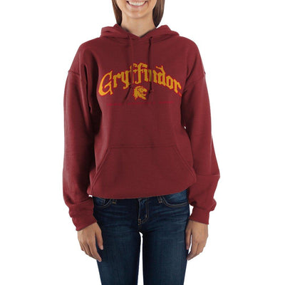 Harry Potter Hogwarts Gryffindor Graphic Hoodie - Iconic Wars