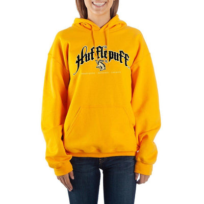 Harry Potter Hufflepuff Graphic Hoodie Fan Apparel - Iconic Wars