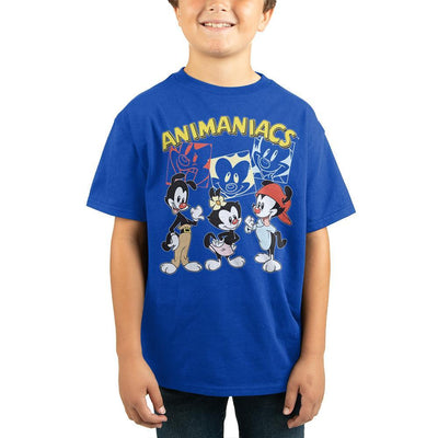 Wakko and Yakko Youth TShirt Boys Graphic Tee - Iconic Wars