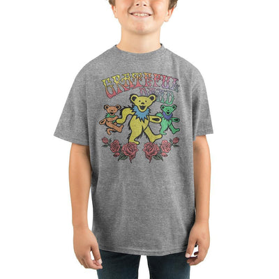 Youth Grateful Dead Punk Rock Band Graphic Tee - Iconic Wars