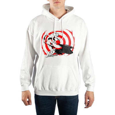 Mens Persona 5 Anime Video Game Graohic Hoodie - Iconic Wars