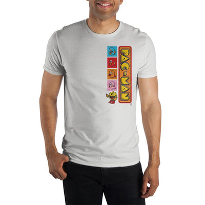 Mens Pac Man Retro Video Game Graphic Tee - Iconic Wars