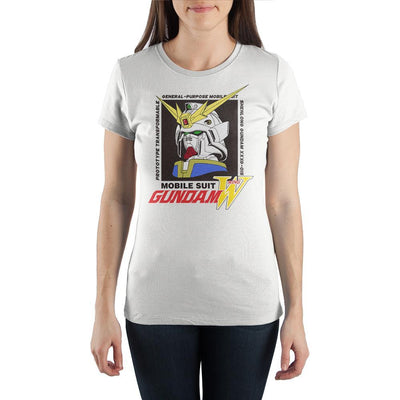 Gundham Anime Cartoon Women's White Short Sleeve Graphic Tee - Iconic Wars