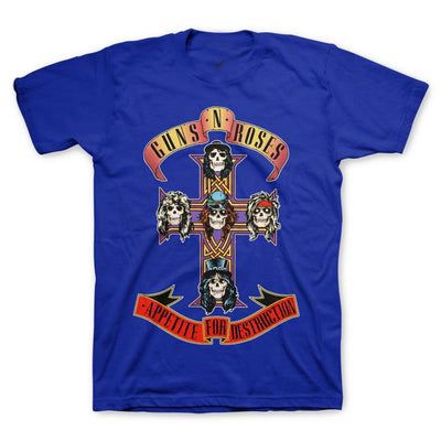 GUNS N' ROSES | CROSS T-SHIRT - Iconic Wars