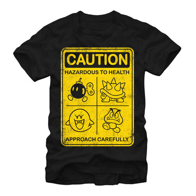 Caution - T Shirt - Iconic Wars