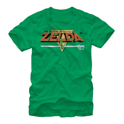 Original Zelda Title - T Shirt - Iconic Wars