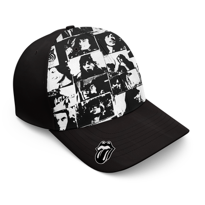 ROLLING STONES | EXILE ALLOVER ALBUM BASEBALL HAT - Iconic Wars