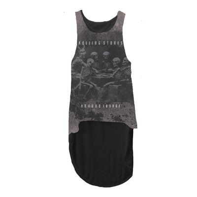 ROLLING STONES VOODOO - WOMENS BLACK TANK TOP - Iconic Wars
