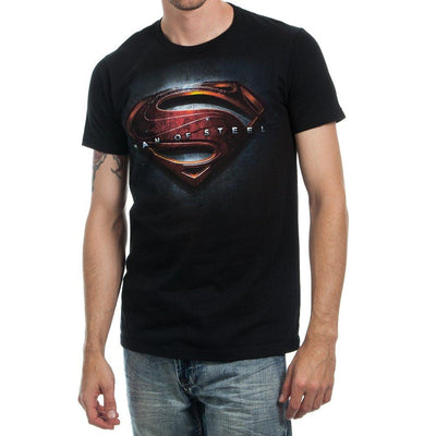 Man Of Steel Movie Logo T-shirt Tee Shirt - Iconic Wars