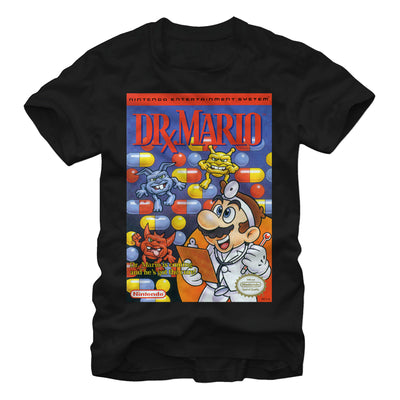 NES Dr Mario - T Shirt - Iconic Wars