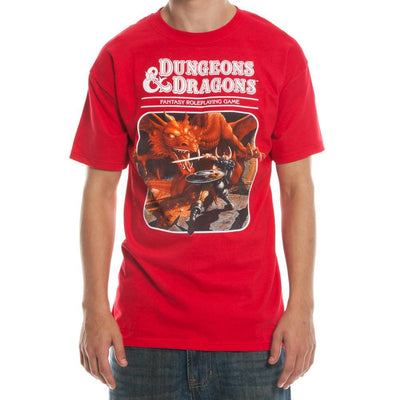 Dungeons and Dragons Third Edition T-Shirt - Iconic Wars