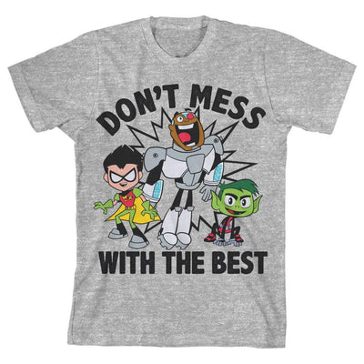 Boys Teen Titans Go Youth TShirt Superhero Clothing - Iconic Wars