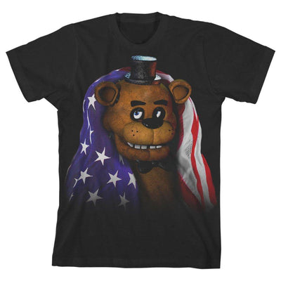 Boys Five Nights at Freddys TShirt Youth Freddy Fazbear Shirt - Iconic Wars