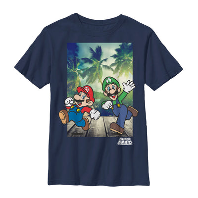 Running Mario - T Shirt - Iconic Wars