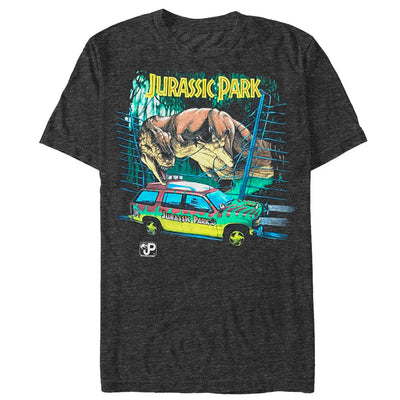 Vintage Jurassic Drive - T Shirt - Iconic Wars