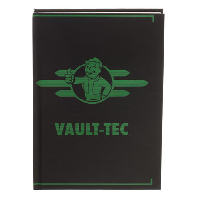 Fallout Vault-Tec Journal Gift for Gamers - Fallout Accessories Stationary Fallout Gift - Gaming Stationary - Iconic Wars