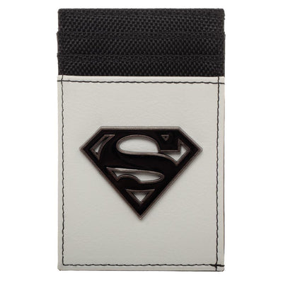 Superman Wallet Front Pocket Wallet Superman Accessory - DC Comics Wallet Superman Gift - Iconic Wars