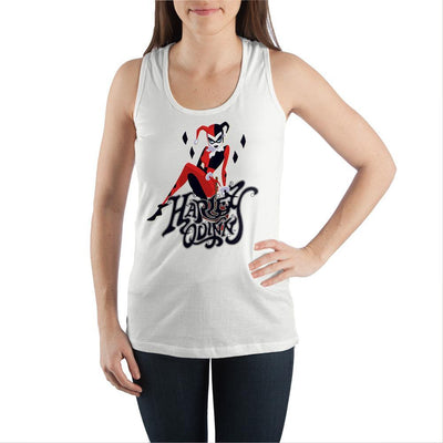 Harley-Quinn-Juniors-Graphic-Tank-Top - Iconic Wars