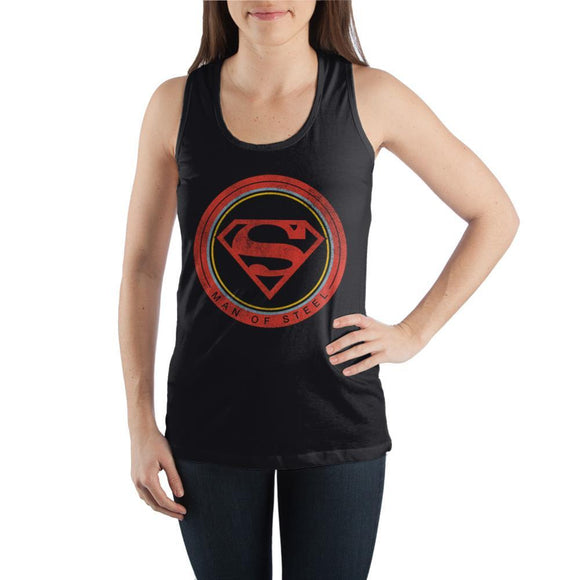 Man-of-Steel-Superhero-Graphic-Tank-Top - Iconic Wars