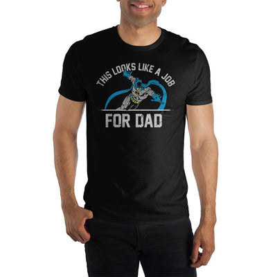 Batman This Looks Like A Job For Dad T-shirt Tee Shirt - Iconic Wars