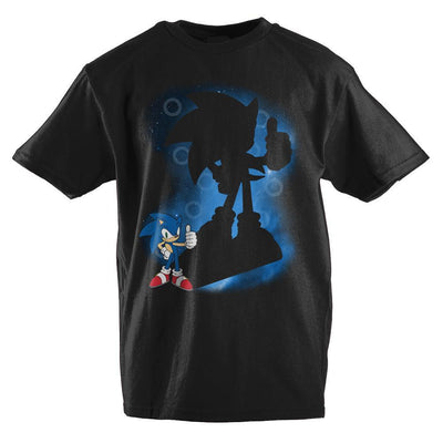 Sonic The Hedgehog Spotlight Youth Short-Sleeve T-Shirt - Iconic Wars