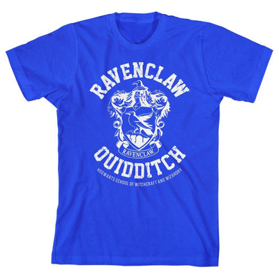 Youth Boys Ravenclaw TShirt Hogwarts Quidditch Clothing - Iconic Wars