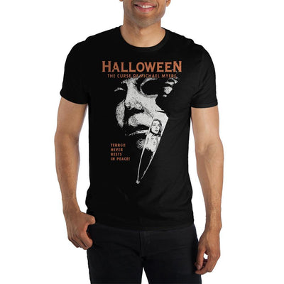 "Halloween 6: The Curse of Michael Myers ""Terror Never Rests In Peace"" T-Shirt - Iconic Wars"