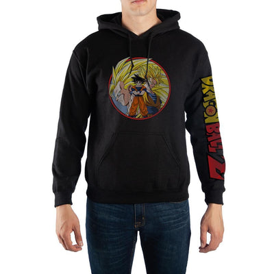 Dragon Ball Z Goku Super Saiyan Hoodie Sweatshirt - Iconic Wars