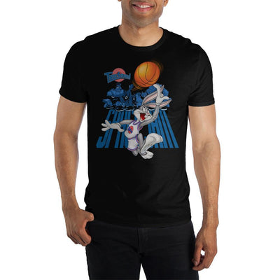 Mens Space Jam Cartoon Graphic Tee - Iconic Wars