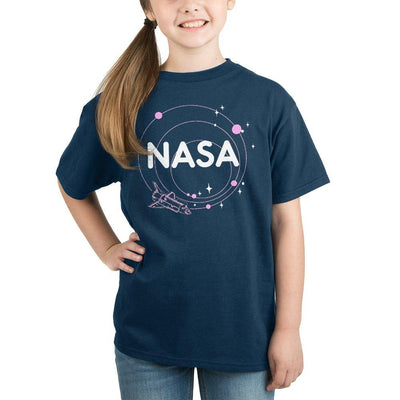 Girls NASA Orbit TShirt NASA Youth Clothing - Iconic Wars