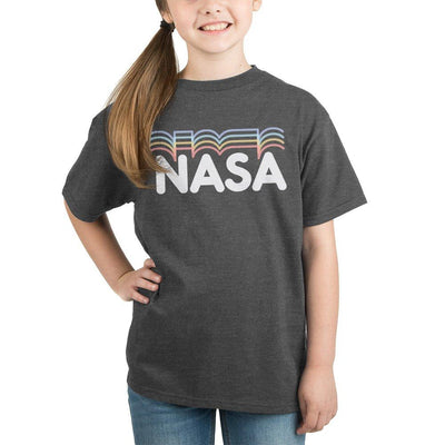 Youth Nasa Logo TShirt Girls Graphic Tee - Iconic Wars